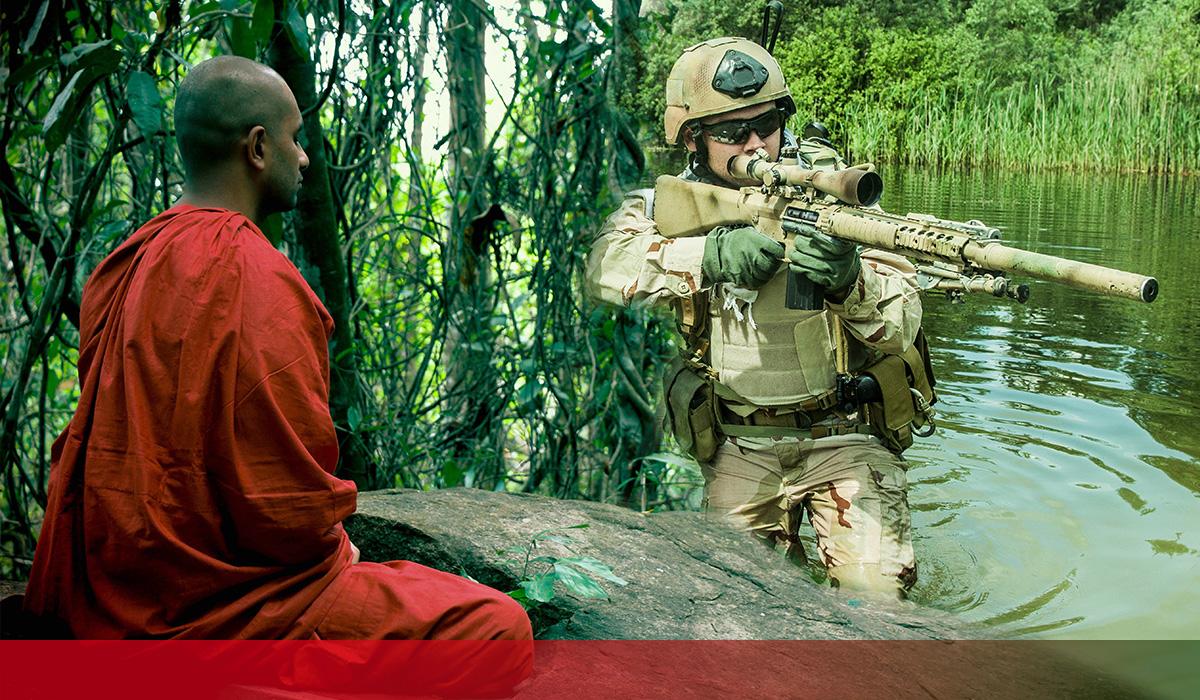 Qu'ont En Commun Les Navy Seals Et Les Moines Tibétains ?